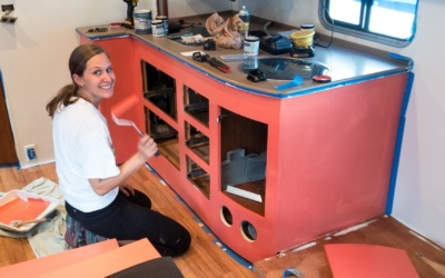 How to Paint the Interior of an RV