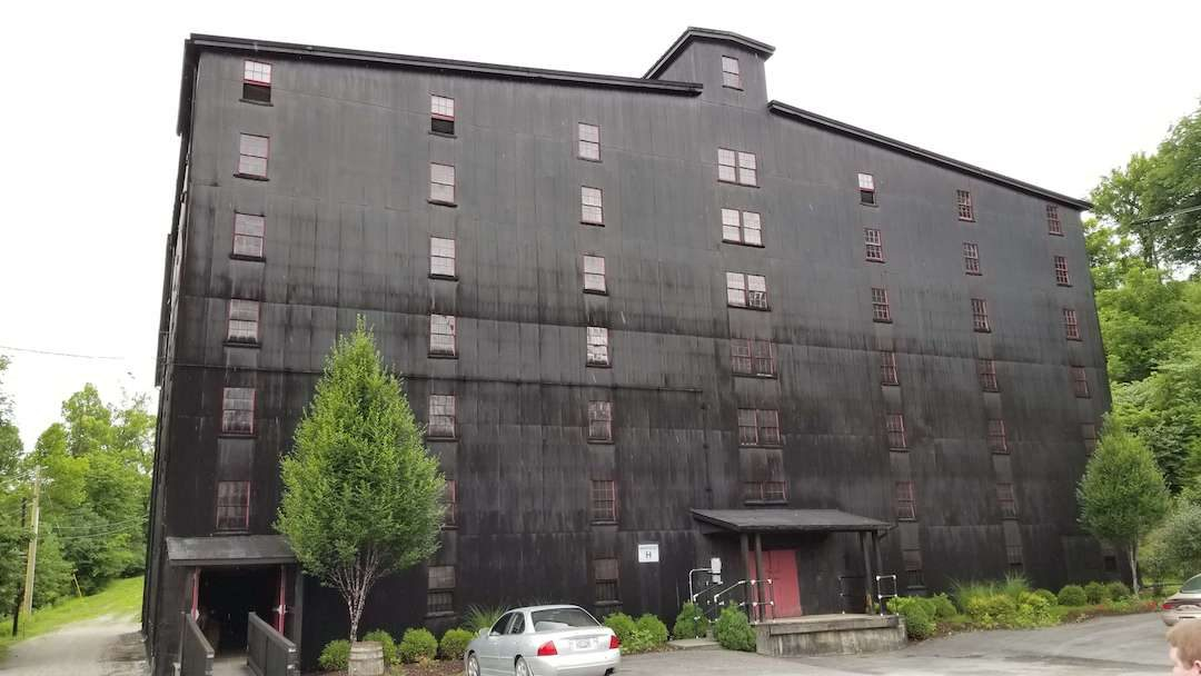 Black Rickhouse at Barton Distillery