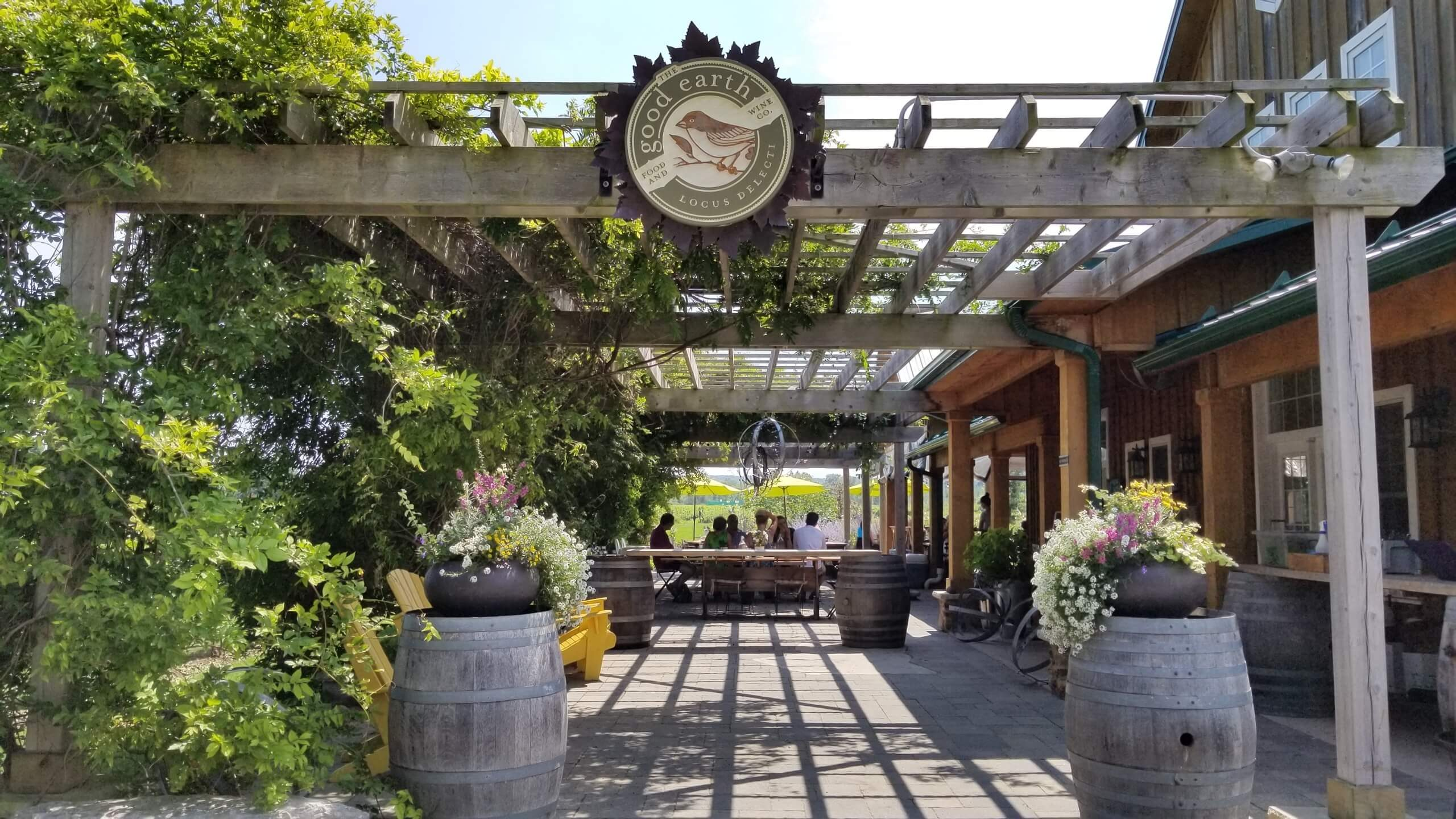 Good Earth Vineyard and Restaurant Niagara Ontario Canada