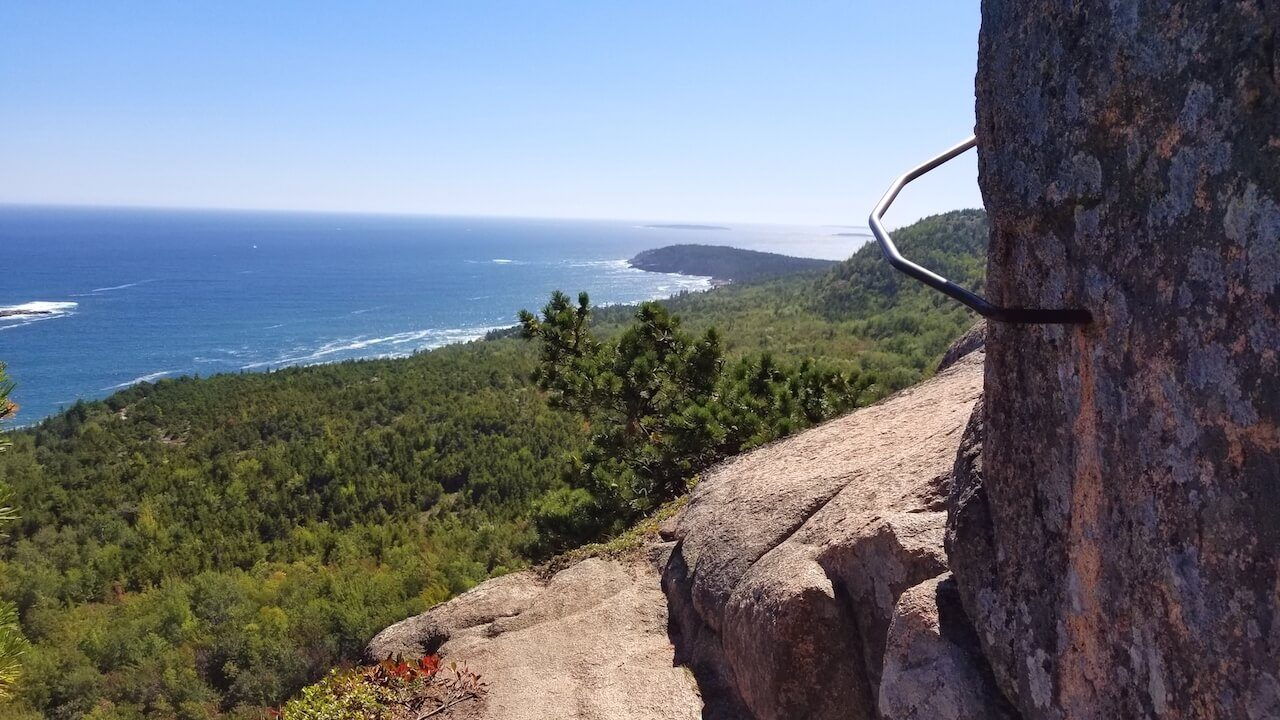 Bee Hive Trail Acadia National Park