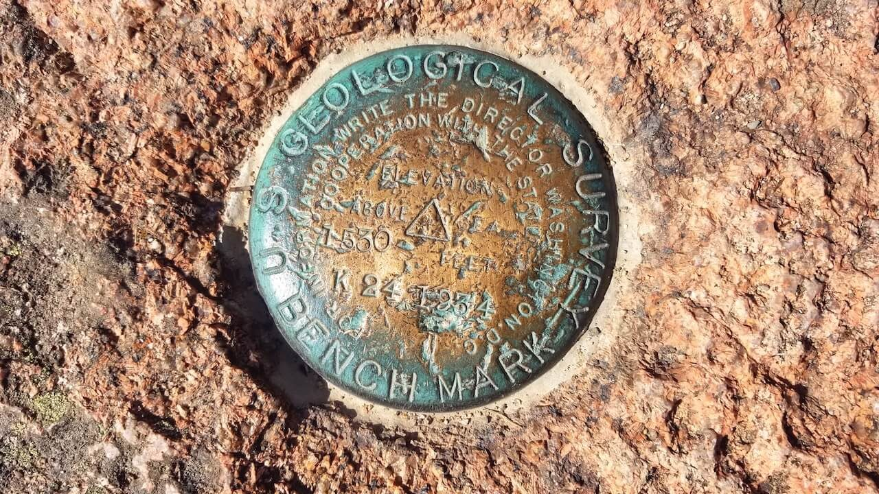 Cadillac Mountain Summit marker
