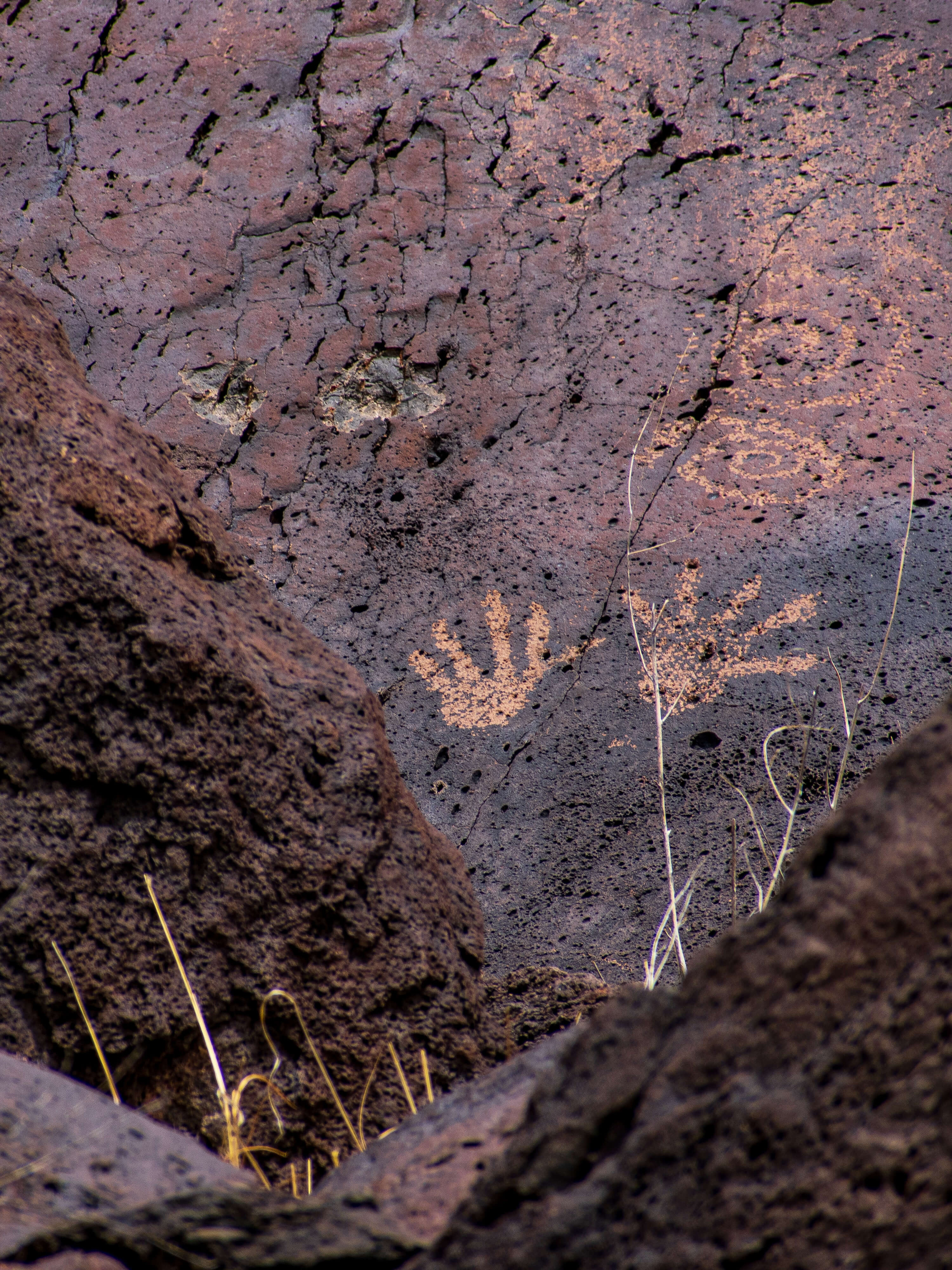 Hands Petroglyph New Mexico