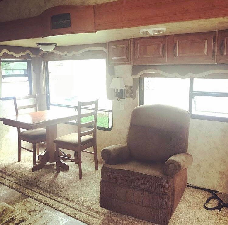 Office Before RV Renovation